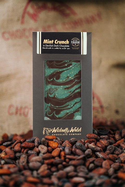 Mint Crunch Welsh Dark Chocolate