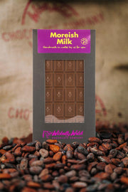 A traditional Tablet of Moreish Milk Chocolate