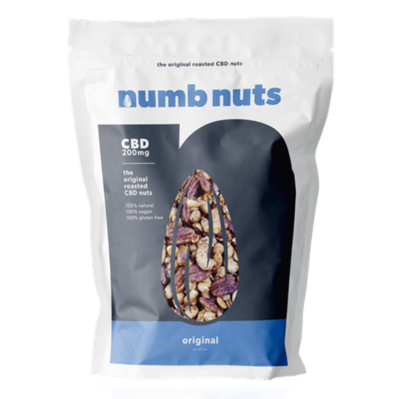Numb Nuts Roasted CBD Nut SnacksNumb NutsEdibles