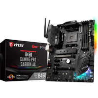 MSI B450 GAMING PRO CARBON AC, Mainboard - digi-cv