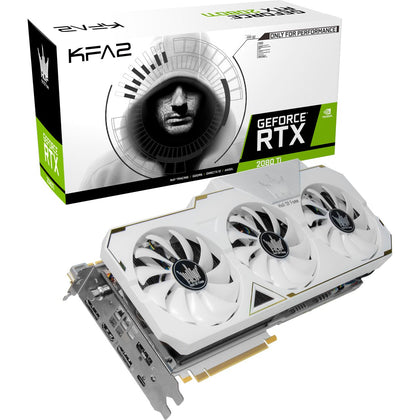 11GB KFA2 GeForce RTX 2080 Ti Hall Of Fame Aktiv PCIe 3.0 x16 Retail - digi-cv