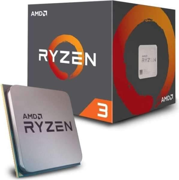 AMD Ryzen 3 1200 Box AM4 (3,100GHz) YD1200BBAEBOX