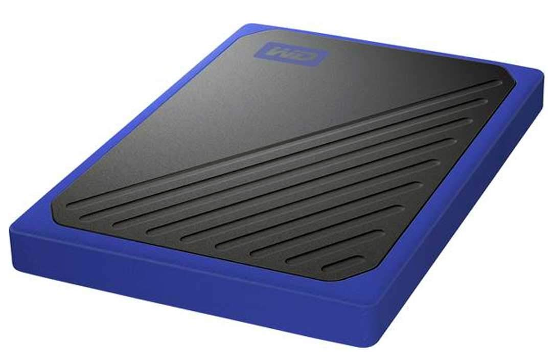 My Passport Go 2TB Black-Blue