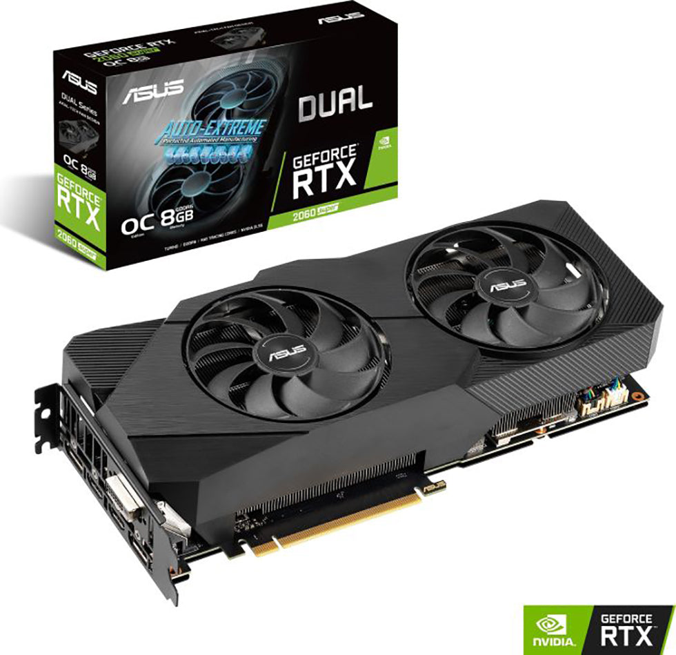 VGA Asus GeForce® RTX 2060 SUPER 8GB Dual OC Evo V2