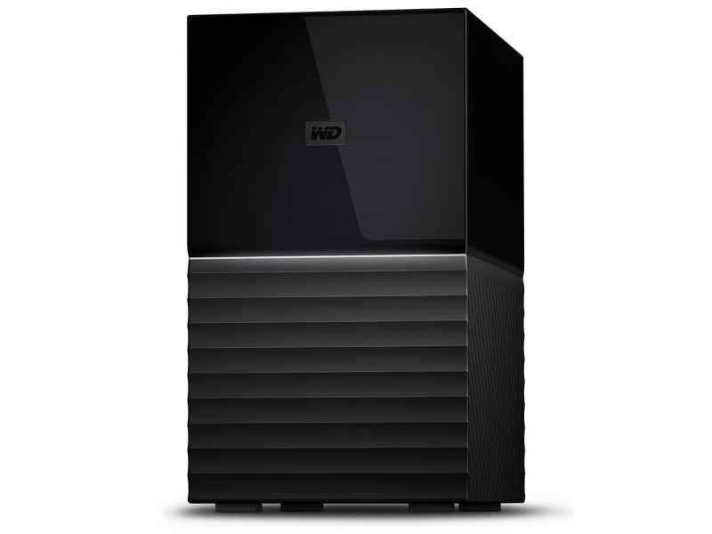 WD My Book Duo 12000GB Desktop Schwarz Disk