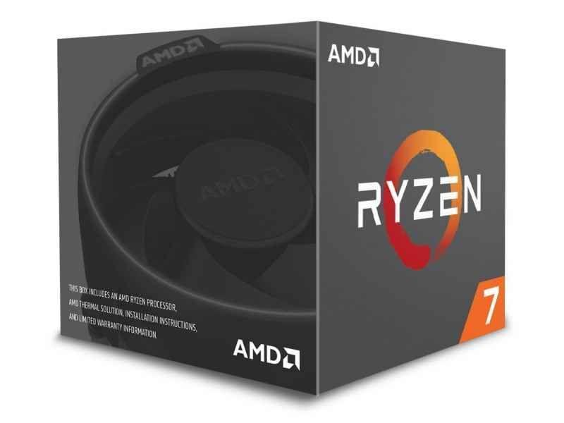 AMD Ryzen 7 2700 3.2GHz 16MB L3 Box