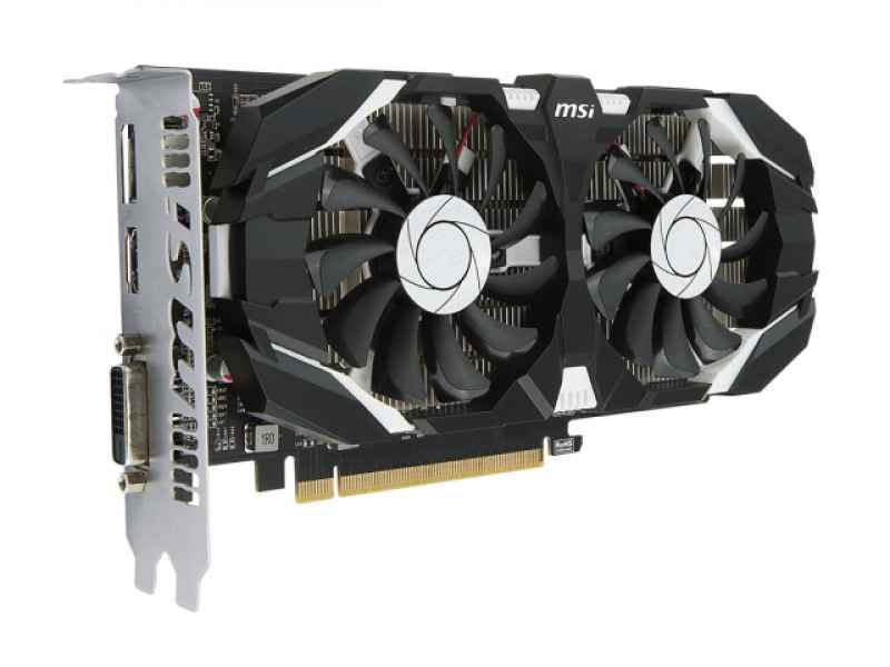 MSI GeForce GTX 1050 TI 4GT OC - VGA - PCI-E x16