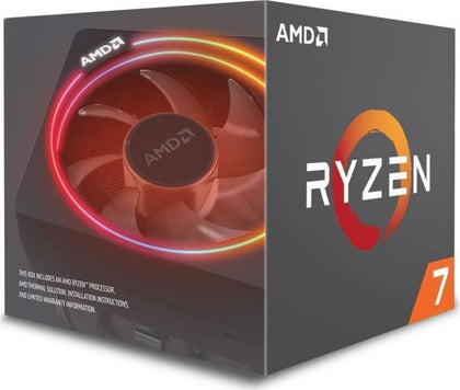 AMD Ryzen 7 2700X Box AM4 (4,350GHz) YD270XBGAFBOX with Wraith Prism cooler - digi-cv