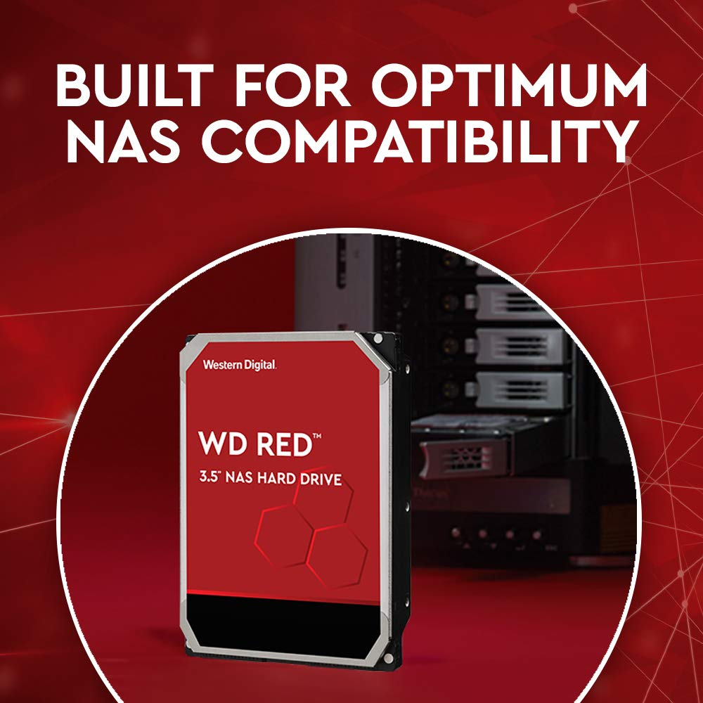 HDD WD Red WD80EFAX 8TB/8,9/600 Sata III 256MB