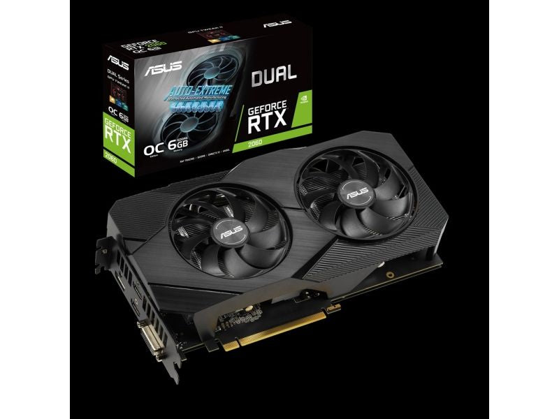 Asus VGA GeForce® RTX 2060 6GB Dual OC EVO