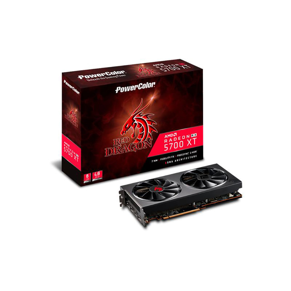 VGA PowerColor Radeon Red Dragon RX 5700XT 8GB GDDR6