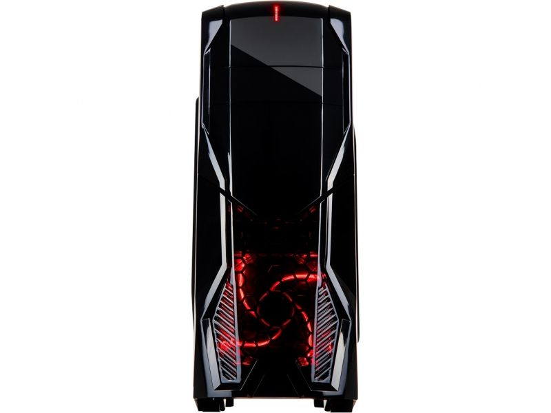 Inter-Tech PC- Gehäuse K1 Gaming