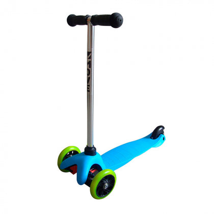 Mini Tri-Scooter Junior Fußbremse Blau - digi-cv