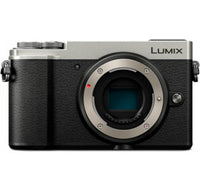 Panasonic Lumix DMC-GX9 Mirrorless Digital Camera Body (Silver) - digi-cv