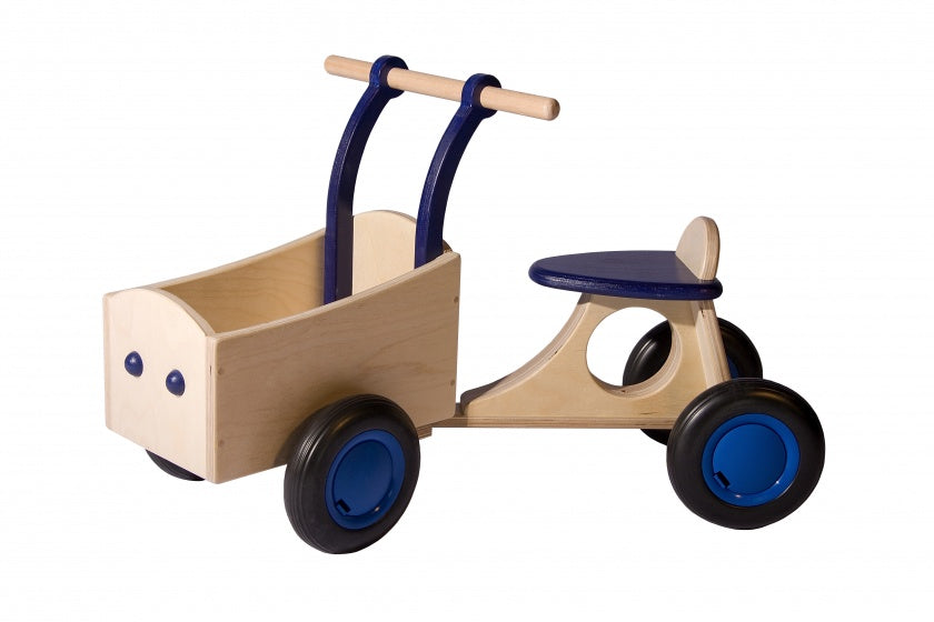 loop-bakfiets Junior Blau