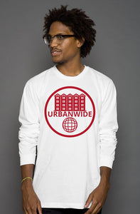 UrbanWide Basic Long-Sleeve Tee [White]