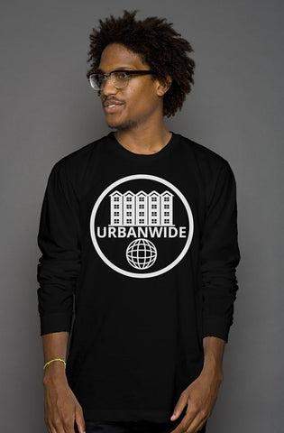 UrbanWide Basic Long-Sleeve Tee [Black]