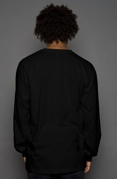 VannDigital Basic Long-Sleeve Tee [Black]