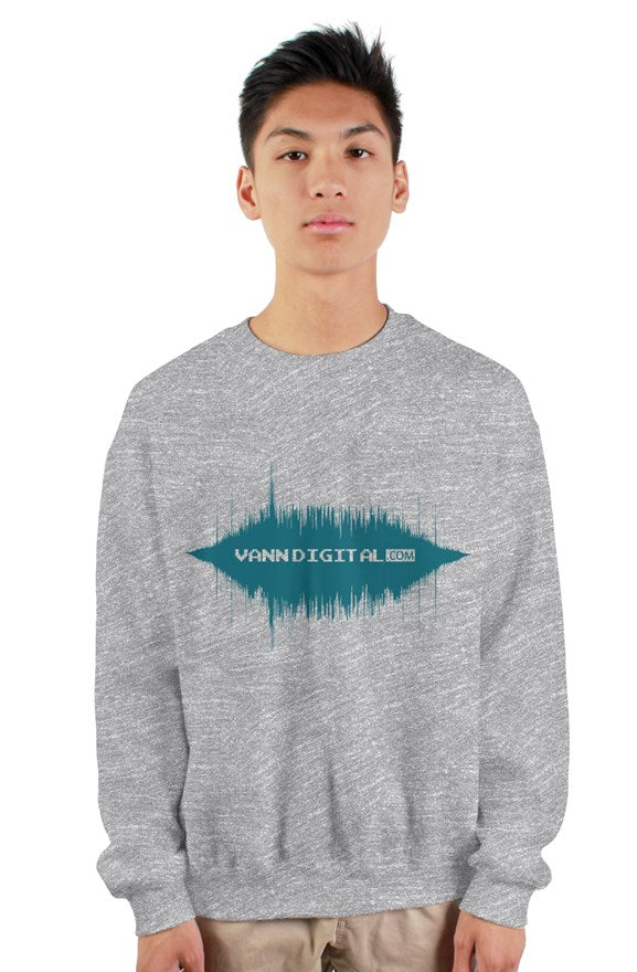 VannDigital Basic Crewneck [Grey]