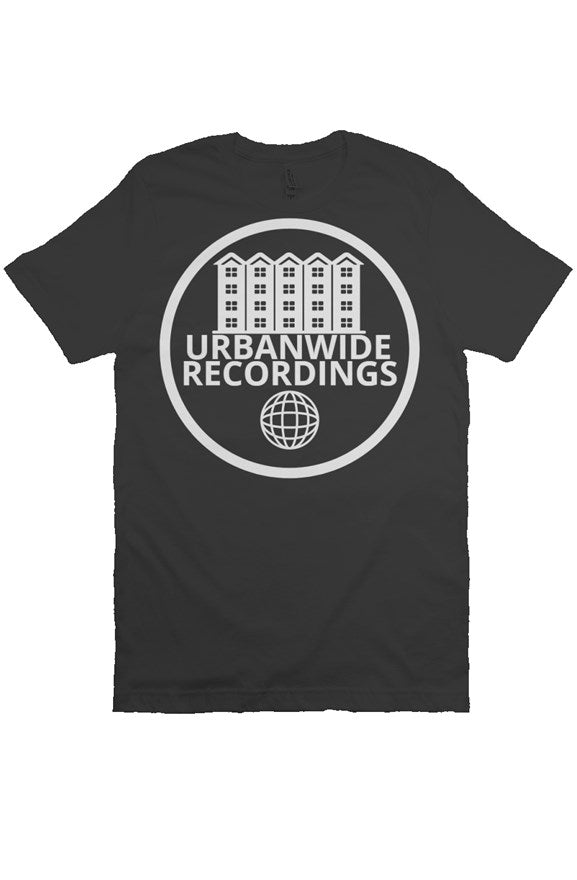 UrbanWide Recordings Black Tee