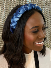 Load image into Gallery viewer, Bahama Blue Tie Dye Headband