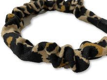 Load image into Gallery viewer, The Valentina Crinkle Headband in Leopard