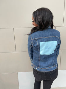 Dust Bag Patch Denim Jacket