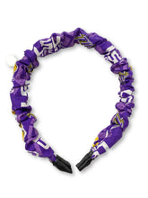 Load image into Gallery viewer, The Valentina Crinkle Headband in LSU