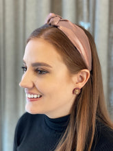 Load image into Gallery viewer, The Kate Rose Gold Knotted Headband