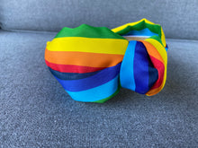 Load image into Gallery viewer, The Kate Rainbow Knotted Headband