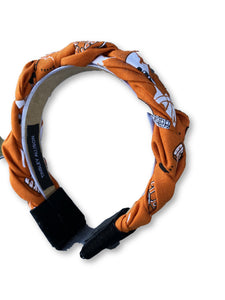 University of Texas Cotton Logo Headband