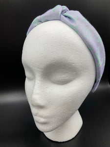 The Kate Knotted Headband- Iridescent