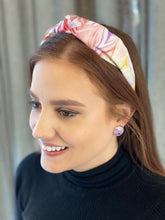 Load image into Gallery viewer, The Kate Pastel Swirl Knotted Headband