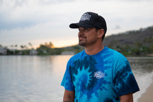 Men's Ocean Tie-Dye T-Shirt