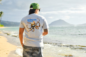 Men's Kewalo's T (Grey)