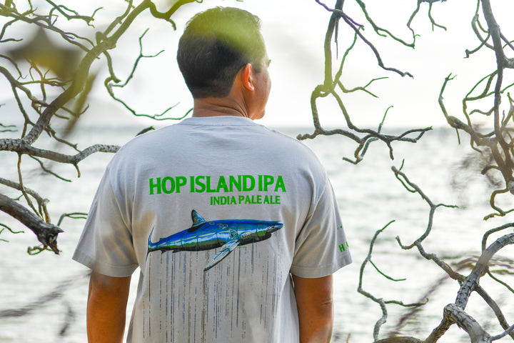 Men's Hop Island T (Grey)