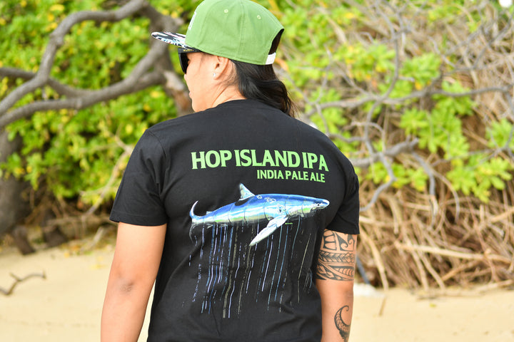 Men's Hop Island T (Black)