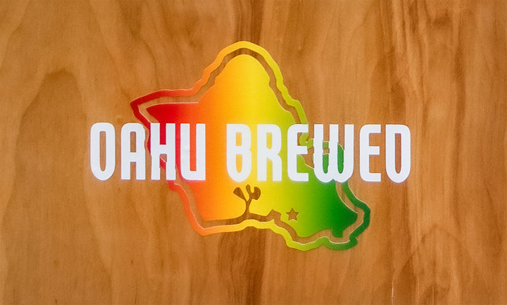 Oahu Brewed Sticker
