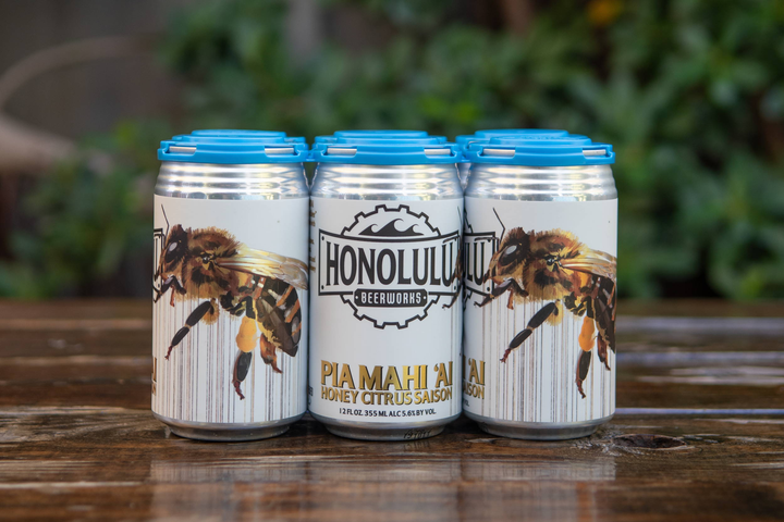 Cans Pia Mahi `ai Honey Citrus Saison