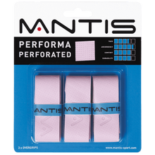 Load image into Gallery viewer, MANTIS Performa Perforated Overgrip - Pack of 3 - Independent tennis shop All Things Tennis