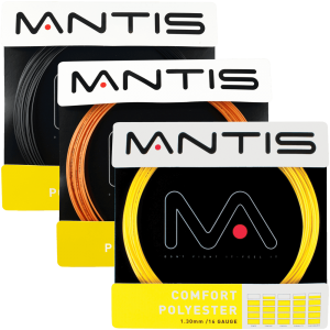 MANTIS Comfort Polyester String - Set (12m) - Coach - Independent tennis shop All Things Tennis