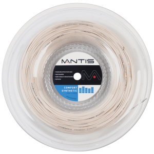 MANTIS Comfort Synthetic String 16G - Reel (200m) - Independent tennis shop All Things Tennis