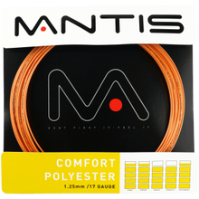 Load image into Gallery viewer, MANTIS Comfort Polyester String - Set (12m) - Coach - Independent tennis shop All Things Tennis