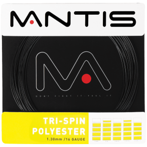 MANTIS Tri-Spin Polyester String - Set (12m) - Coaches - Independent tennis shop All Things Tennis