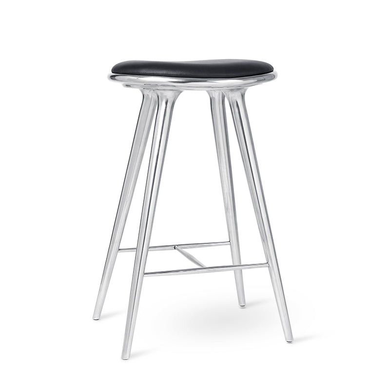 High Stool | Recycled aluminum | 74 cm