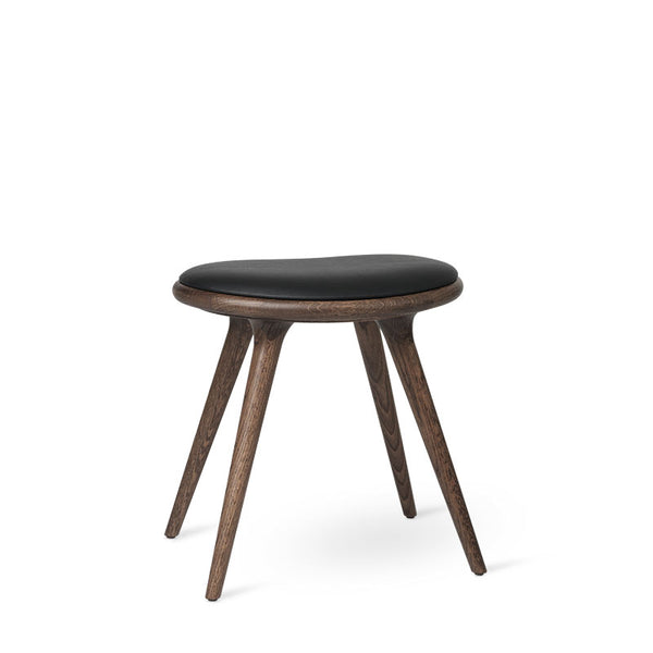 Low Stool | Dark stained oak | 47 cm