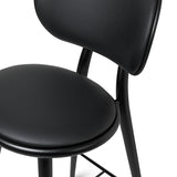 High Stool Backrest | Black beech | 74 cm
