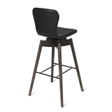 Shell Bar Stool | Ultra Brandy | 74 cm