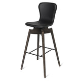 Shell Bar Stool | Ultra Cognac | 72 cm