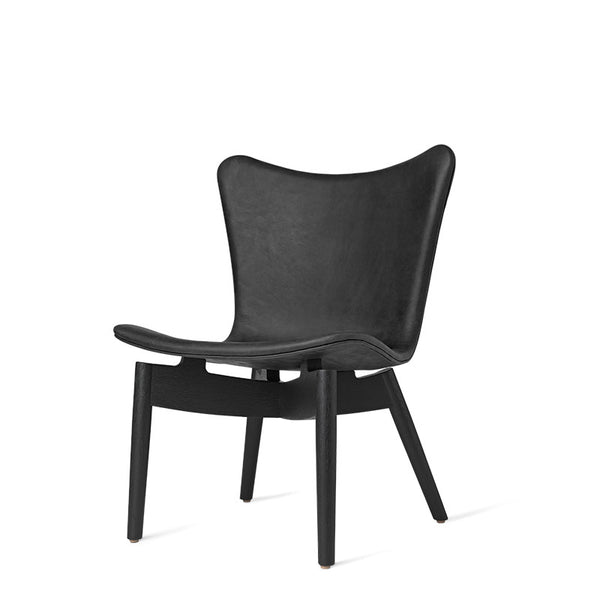 Shell Lounge Chair | Dunes Anthrazite Black